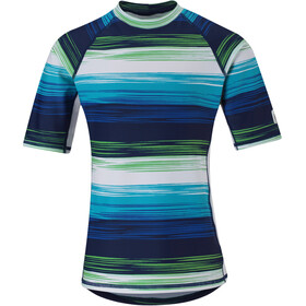 Reima Fiji Swim Shirts Boys Navy Blue